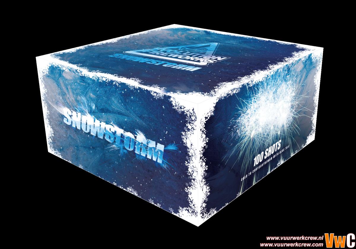 snowstorm 3d 2 by Scav in Cakes en fonteinen