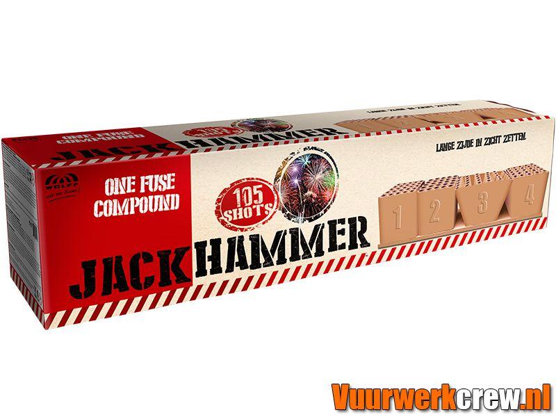Jackhammer Wolff Vuurwerk Vuurwerkland Vuurwerkcrew