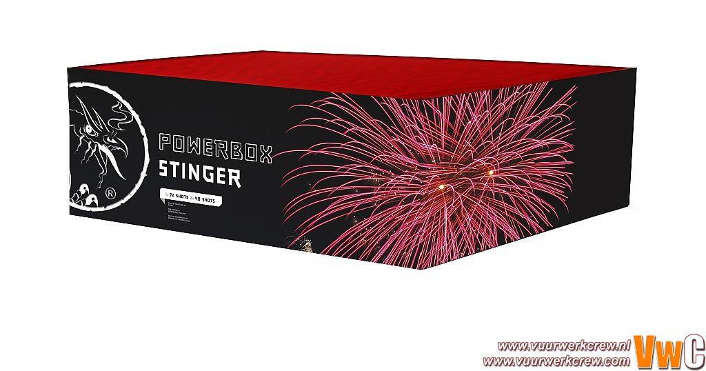 Powerbox Stinger by Viva la Bang in Cakes en fonteinen