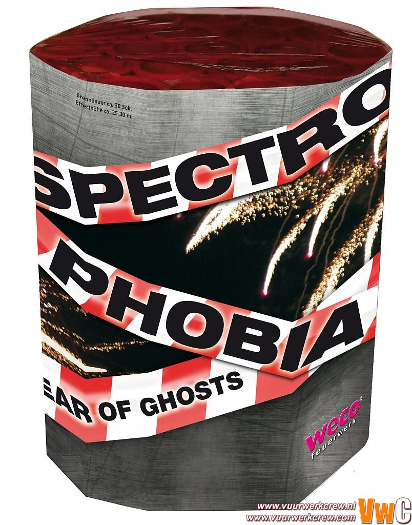 Spectro Phobia Weco by Viva la Bang in Cakes en fonteinen