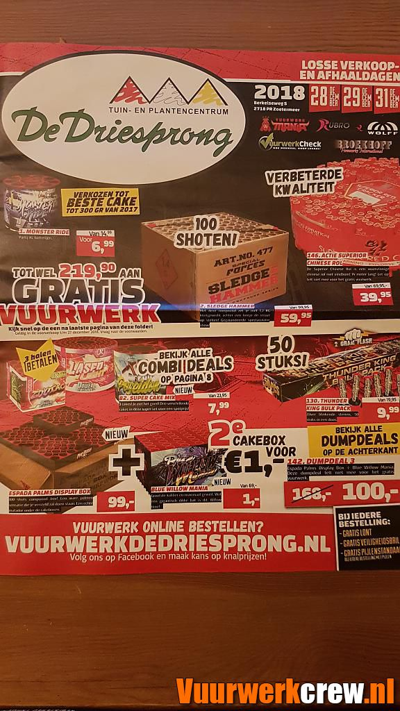 folder driesprong by pyrofan#1 in Nederlandse winkels