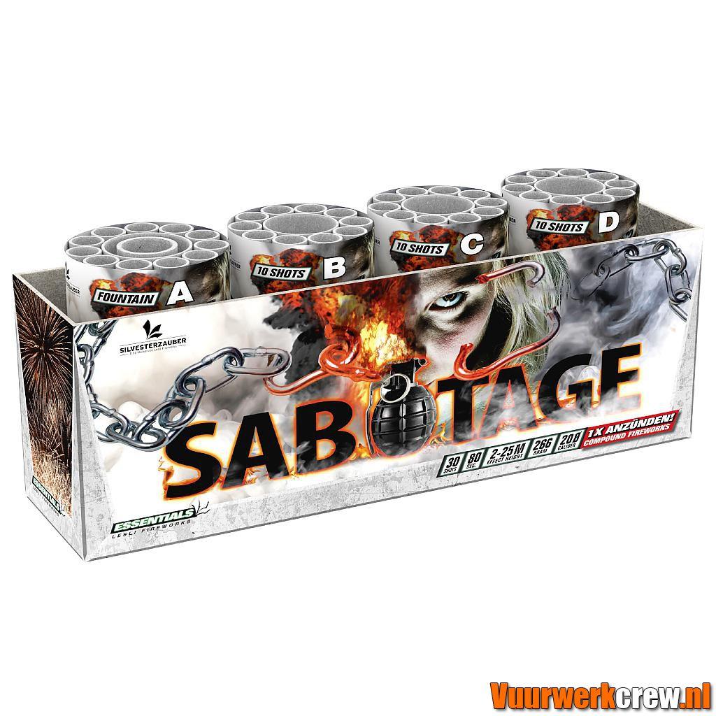 sabotage by titanium in Lesli