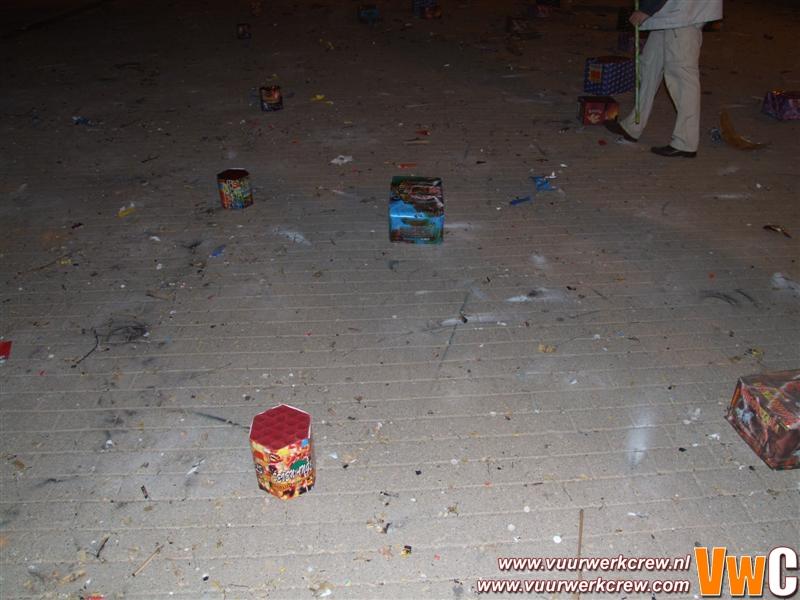 Freaken show 16 maart 2007 (Rivierbedding)