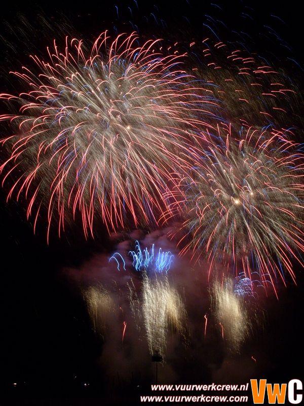 Knokke-heist Internationaal Vuurwerkfestival 27-08-2008 Zweden - Goteborg