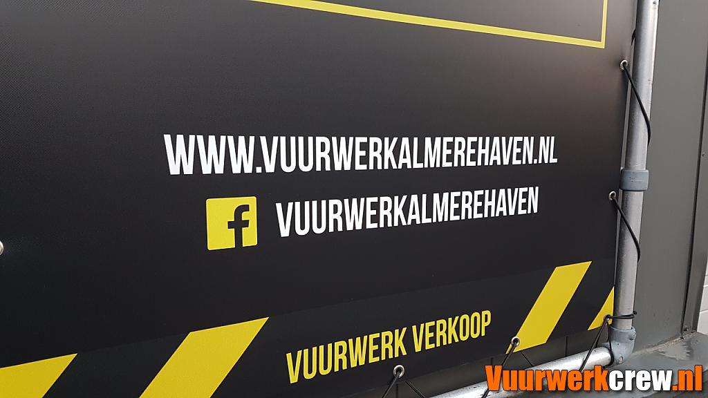 Winkelbezoek Vuurwerk Almere Haven by Djaimy in Nederlandse winkels